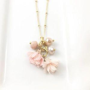 "Brand New Savanna Hill Floral Necklace 30"""